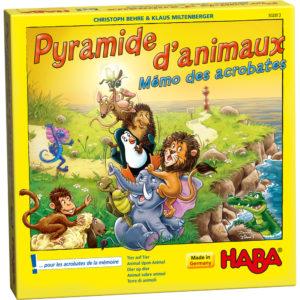 Pyramide d'animaux - haba - Les petits futés