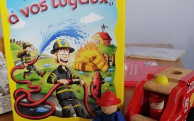 Présentation dynamique par Honorine : Pompiers, à vos tuyaux de Haba