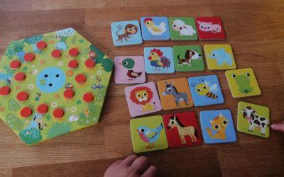 Test du jeu MEMO MEUH par Honorine, assistante-maternelle du Cotentin