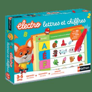 electro lettres et chiffres - nathan