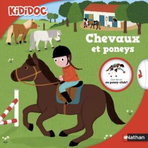 kididoc chevaux et poneys - nathan