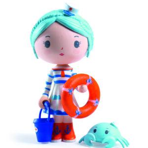 figurine Tinyly marionette et scouic Djeco