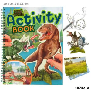 activity book - dino world