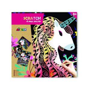 cartes-a-gratter-licorne