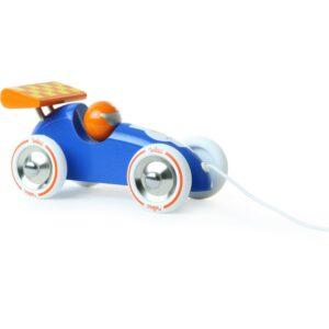 voiture-de-course-trainer-bleu-orange-vilac